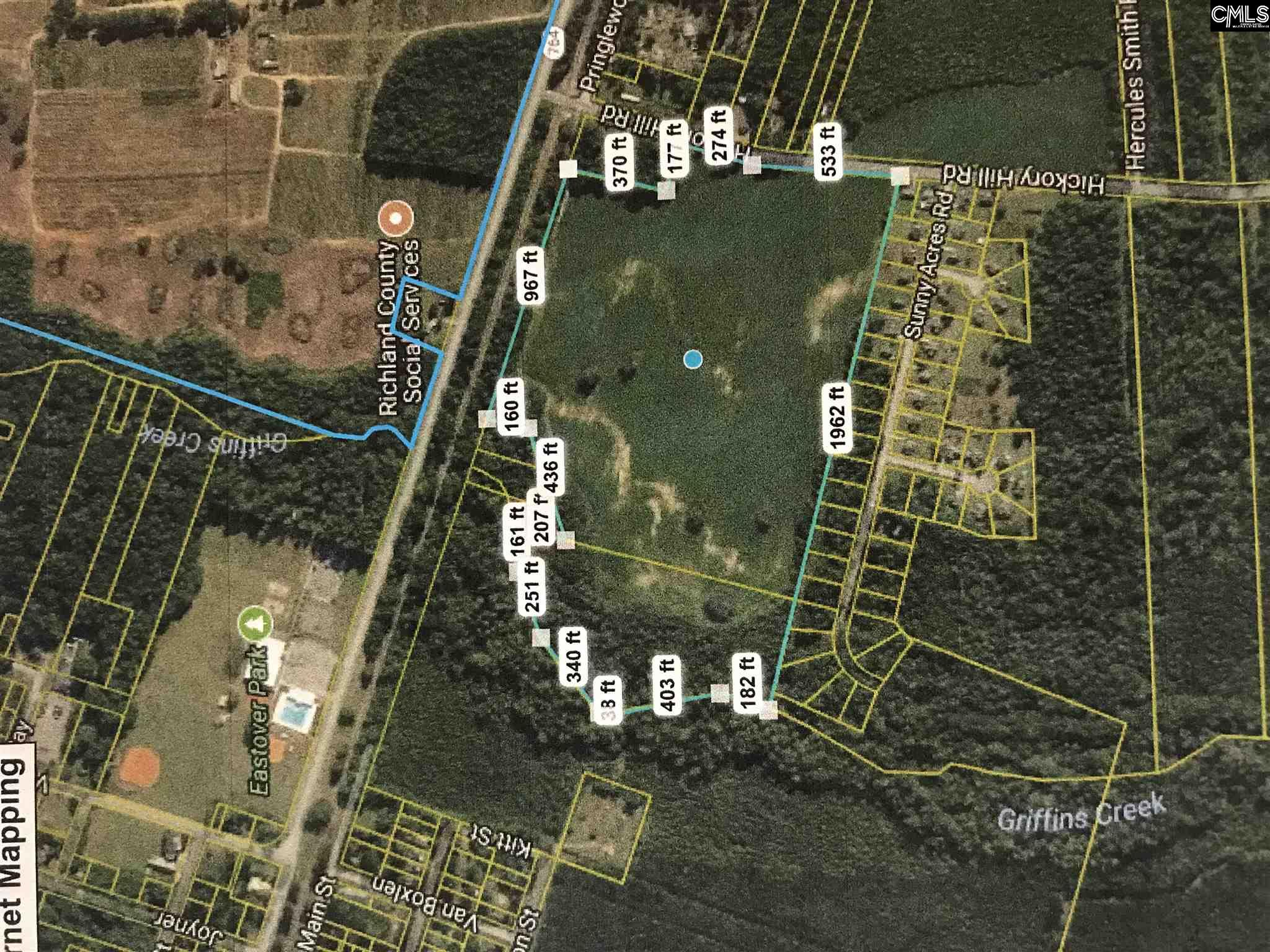 Hickory Hill Rd Eastover, SC 29044