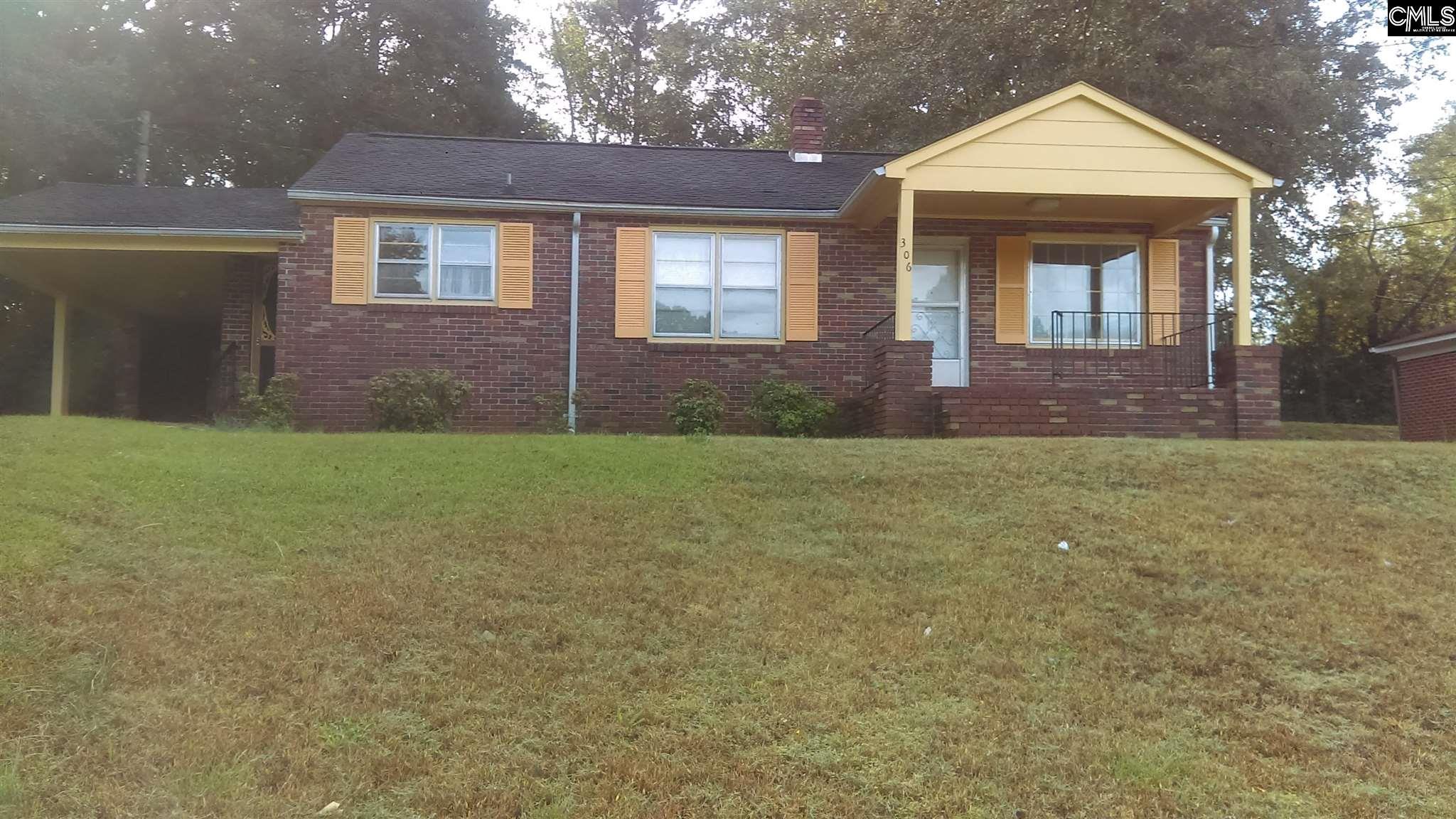 306 N Roosevelt Winnsboro, SC 29180