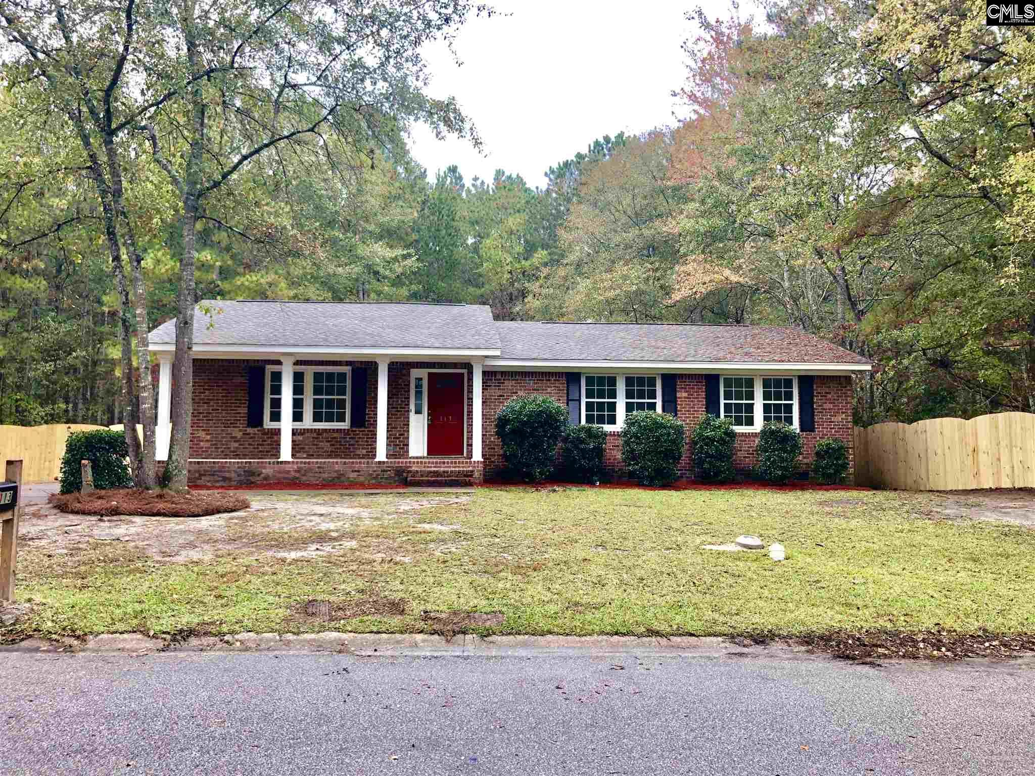 113 Forrister Columbia, SC 29223