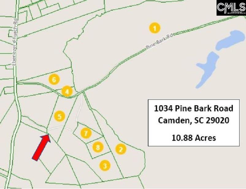 1034 Pine Bark Camden, SC 29020