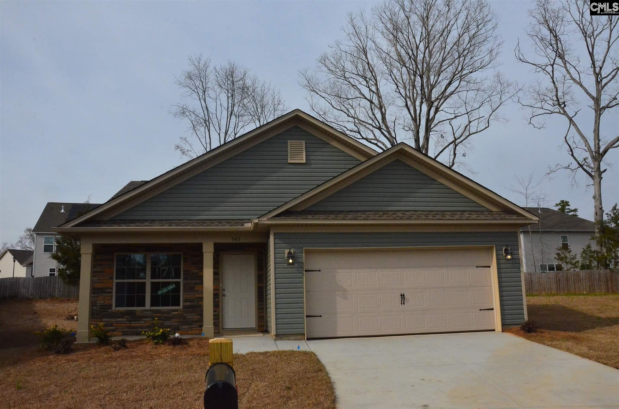 543 Connecticut Chapin, SC 29036
