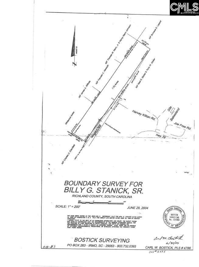 Bakersland Chapin, SC 29036
