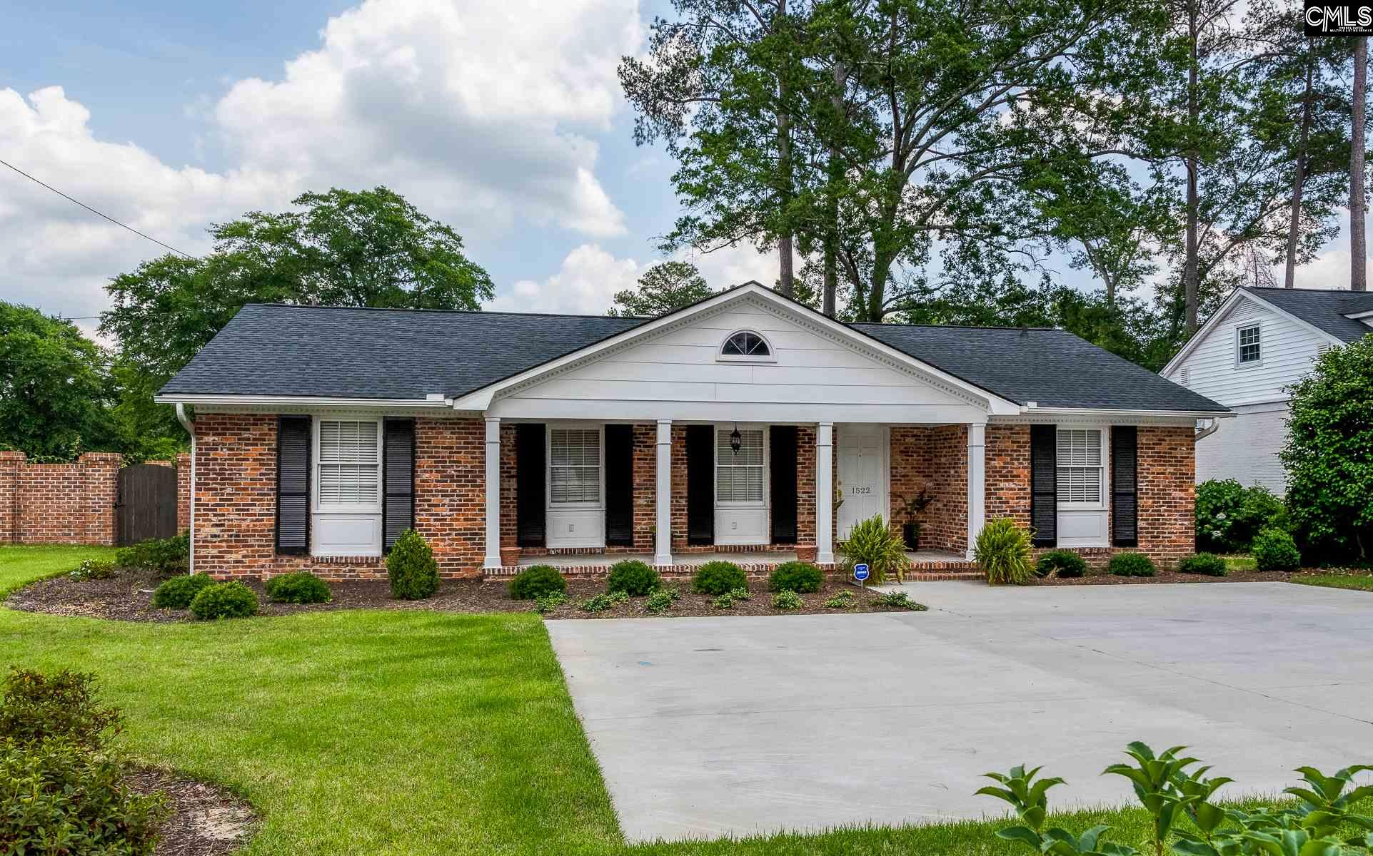 1522 Medway Columbia, SC 29205
