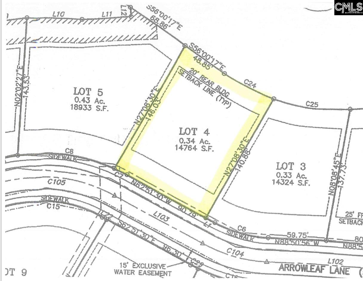 224 West Arrowleaf Ln (lot 4) Elgin, SC 29045
