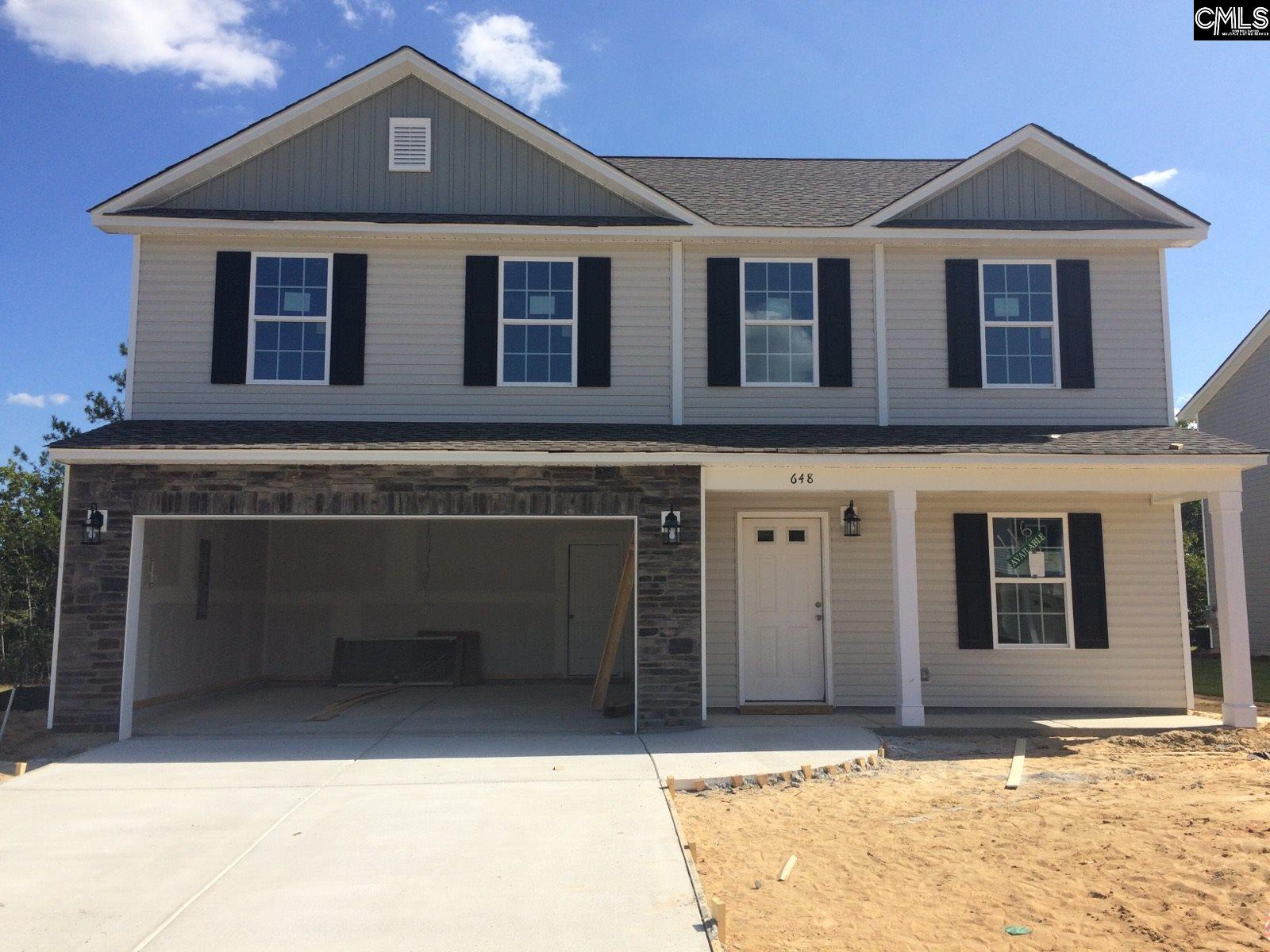 648 Teaberry (lot 116) Columbia, SC 29229