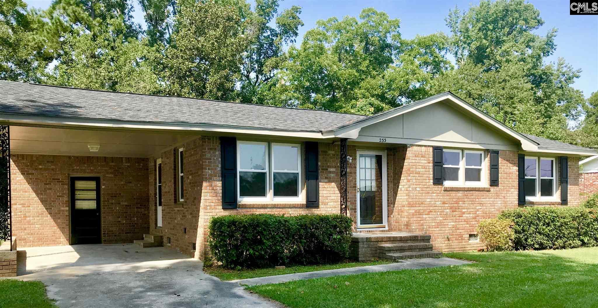 233 Brookdale Orangeburg, SC 29115