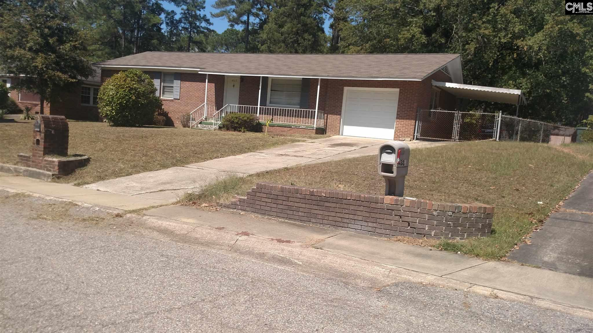 4317 Pine Forest Columbia, SC 29204