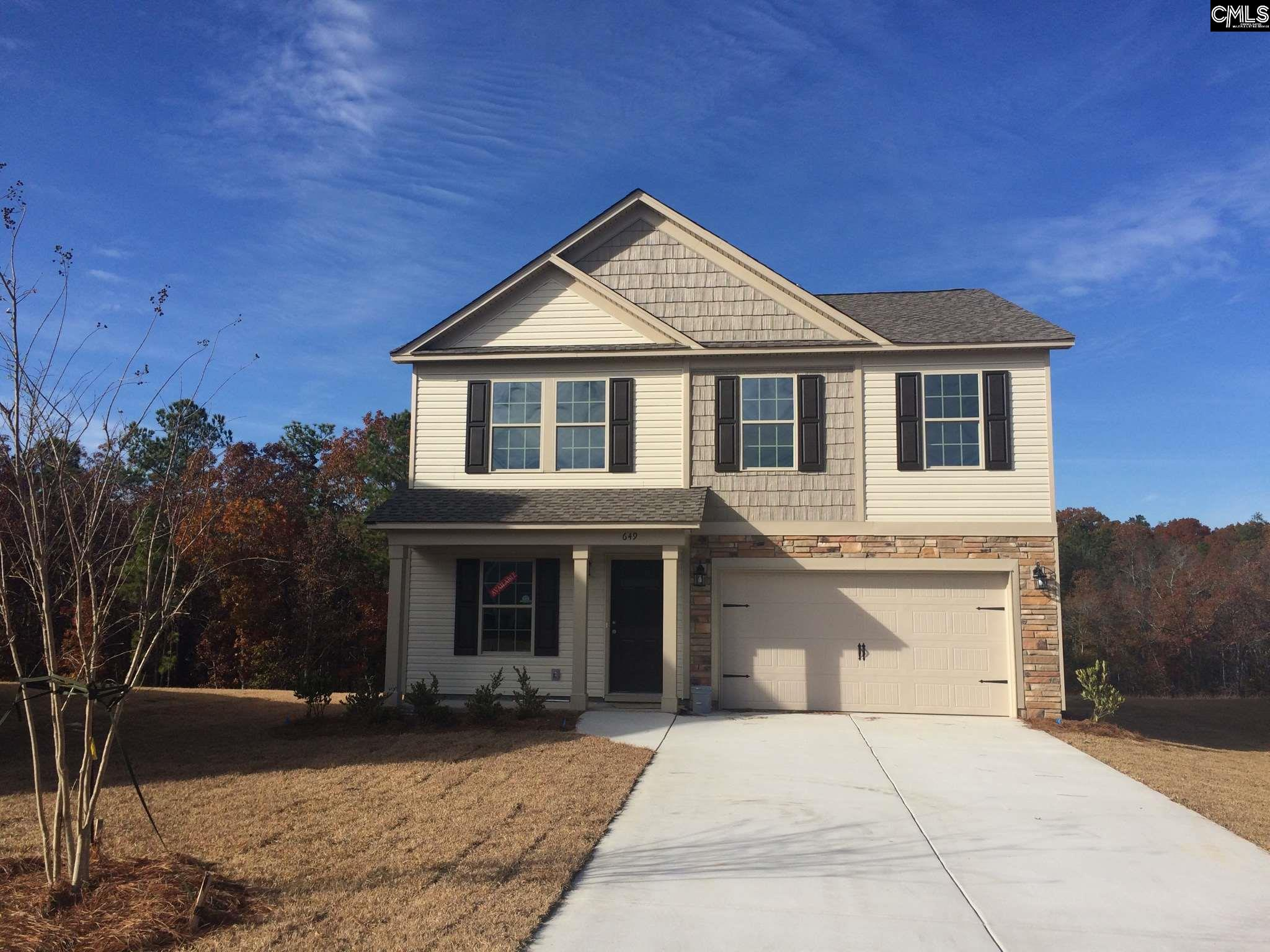 649 Teaberry (lot 112) Columbia, SC 29229