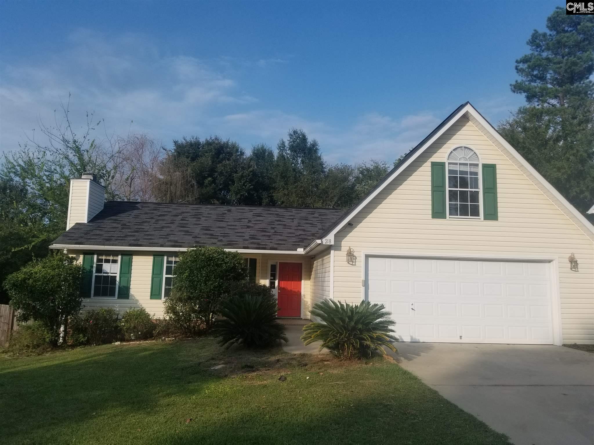 218 Walnut Grove Irmo, SC 29063