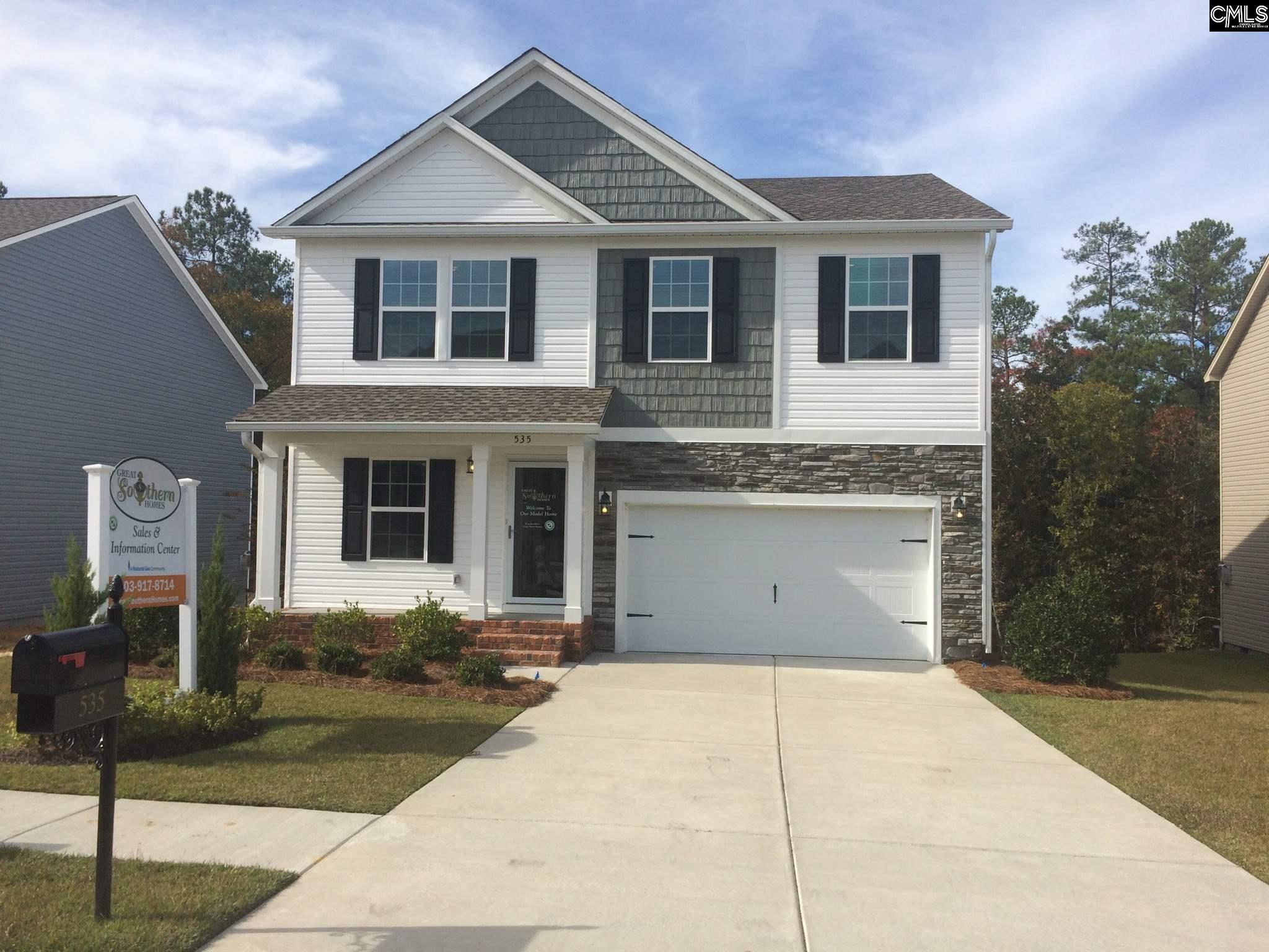 535 Teaberry (lot 90) Columbia, SC 29229