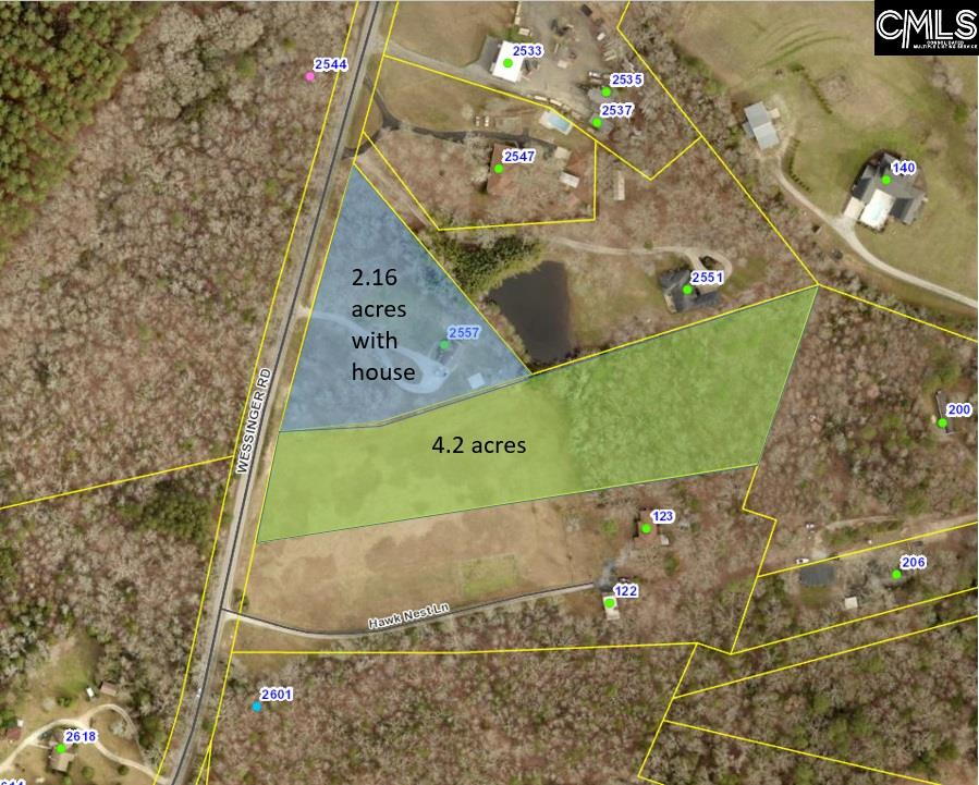 2557 Wessinger Chapin, SC 29036