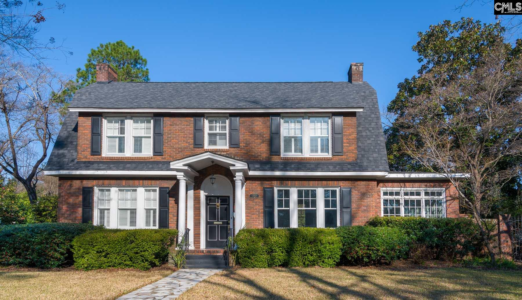 1707 Heyward Columbia, SC 29205