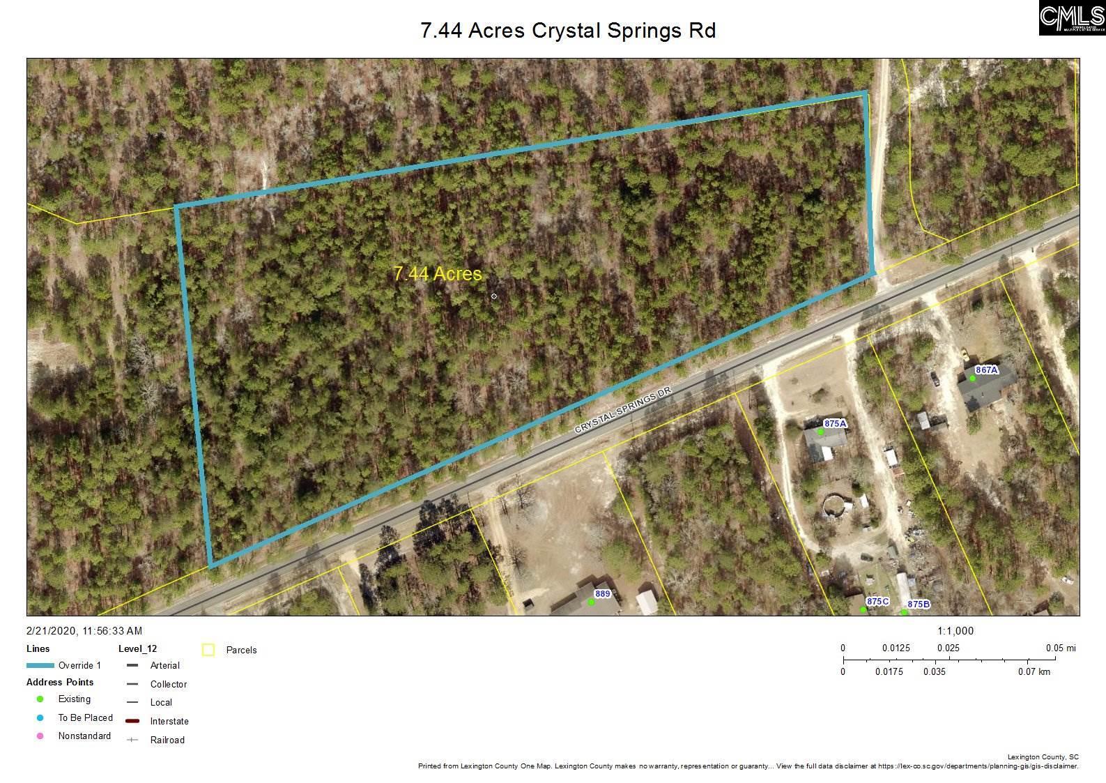 Crystal Springs Pelion, SC 29123