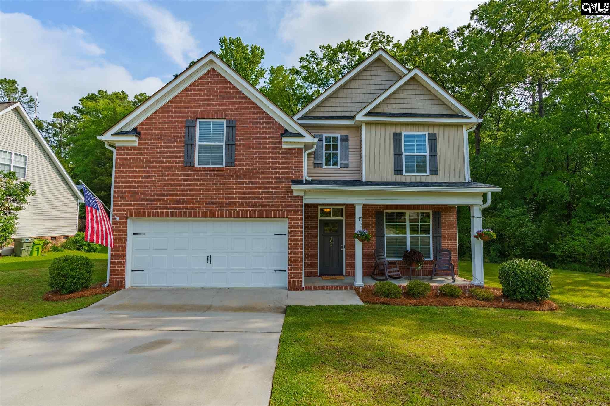 105 High Bluff Irmo, SC 29063