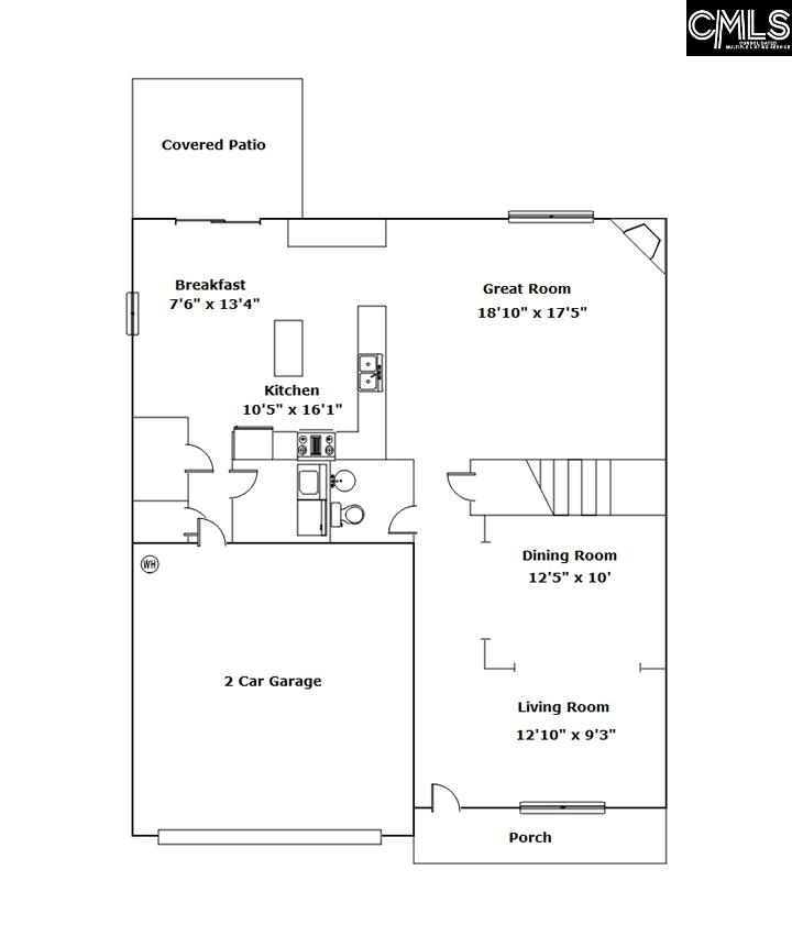 1178 Primrose Blythewood, SC 29016