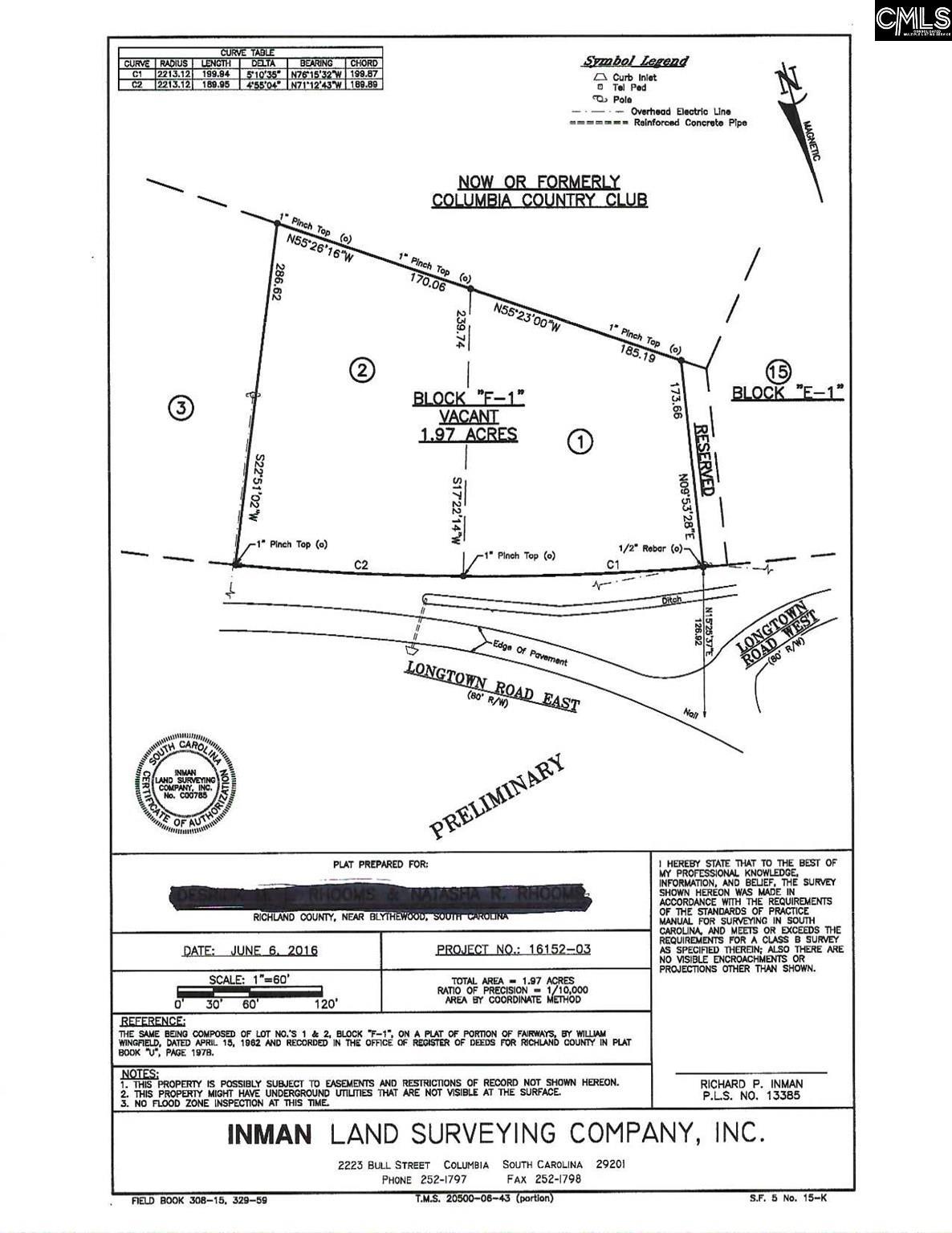 2243 E Longtown Blythewood, SC 29016