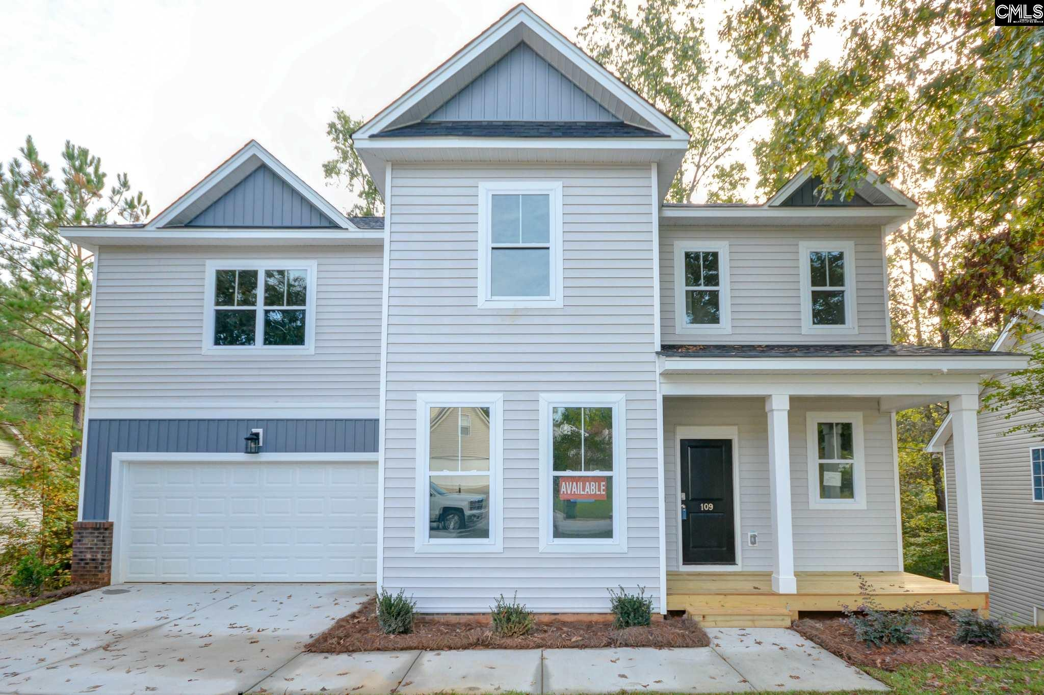 109 Black Creek Irmo, SC 29063