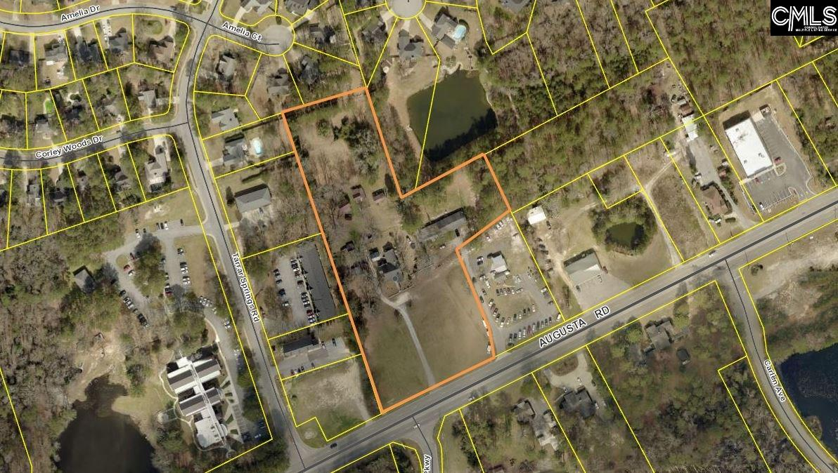 +/- 5.28 acres of prime commercial land in the heart of Lexington.  +/- 310 feet of road frontage on busy Augusta Road/ Hwy 1.  Water and sewer available.  A one-minute drive to Interstate 20 allows quick convenience to the Greater Columbia area and Augusta.  10 minute drive to the airport. 28,500 VPD Traffic count in 2018.