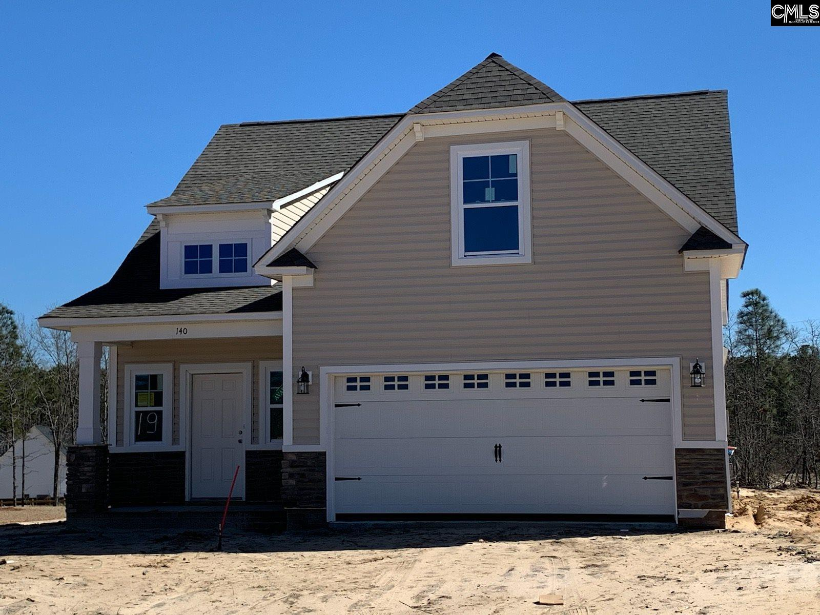 140 Green Ivy (lot 19) Court Camden, SC 29020
