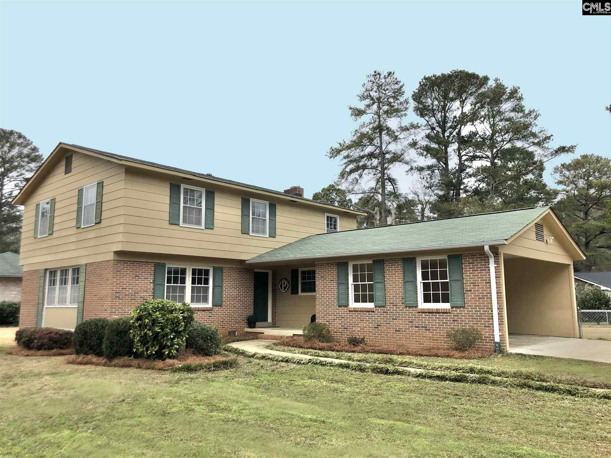 1829 Koulter Drive Columbia, SC 29210