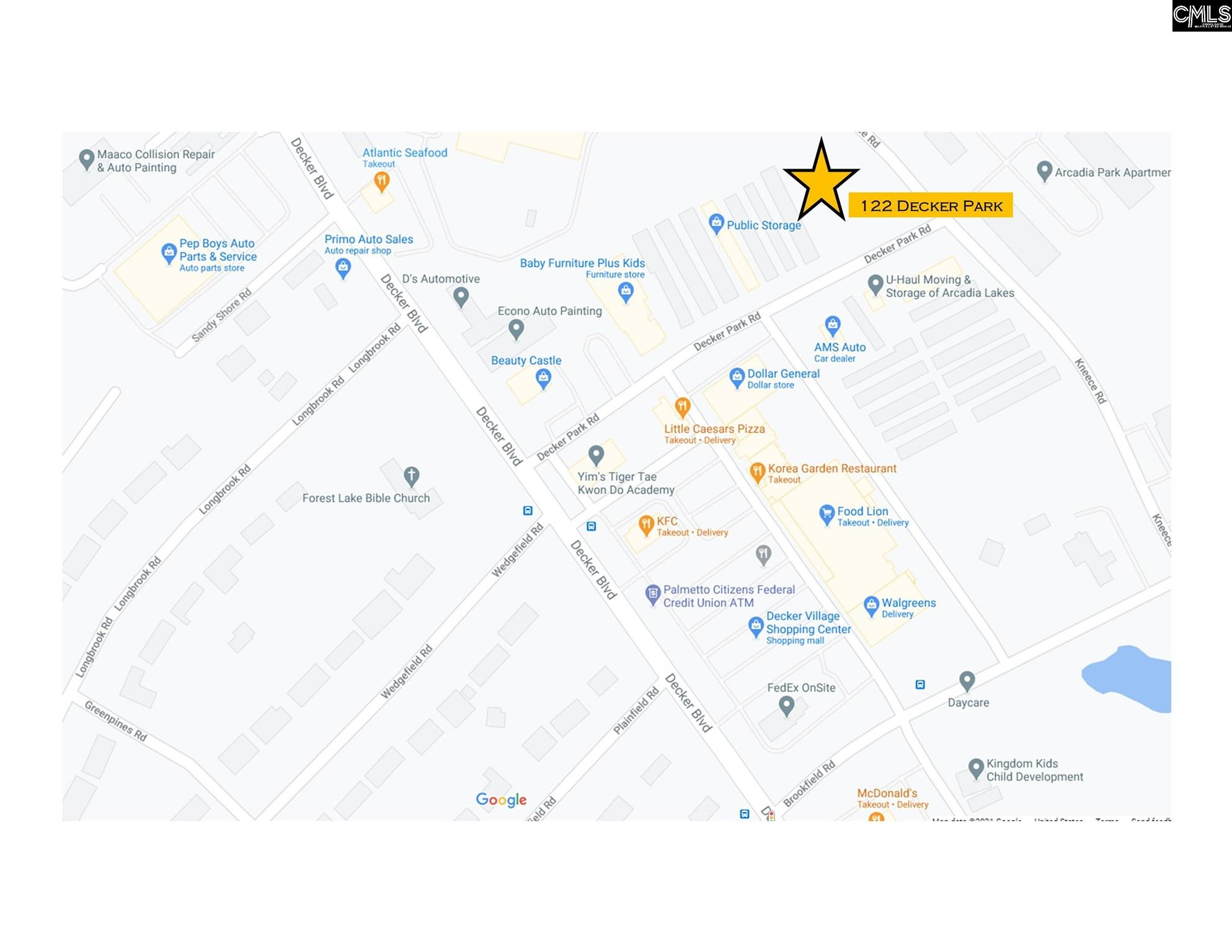 121 Decker Park Road Columbia, SC 29206
