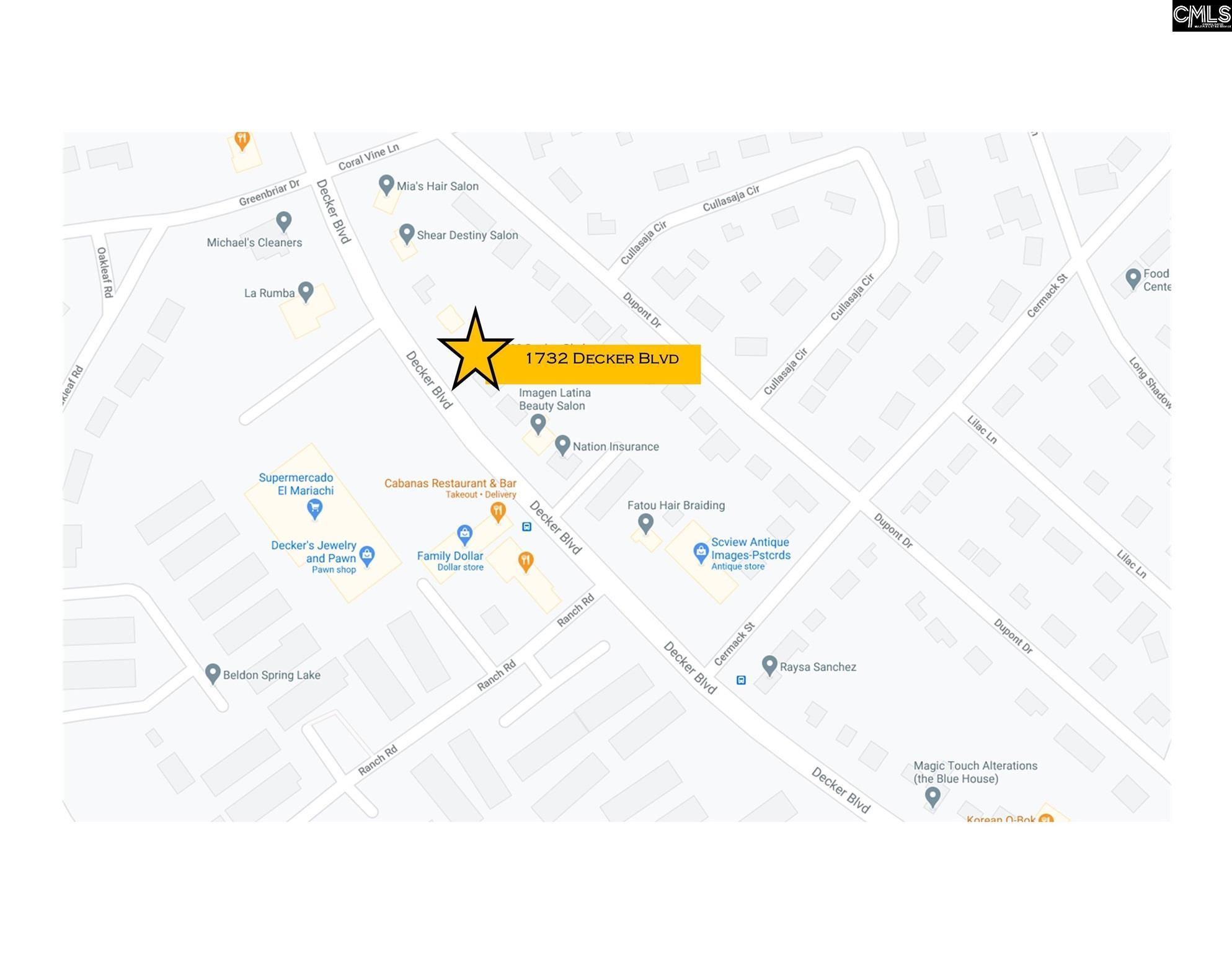 1732 Decker Boulevard Columbia, SC 29206