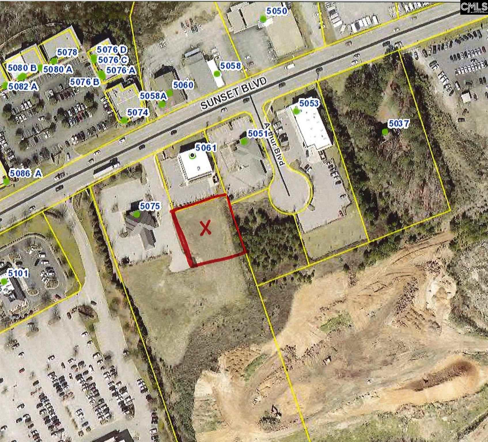 This property is a +/- 0.5 acres 'pad ready' outparcel off of Sunset Boulevard. The parcel is graded and has all utilities in place as well as an offsite detention in place.