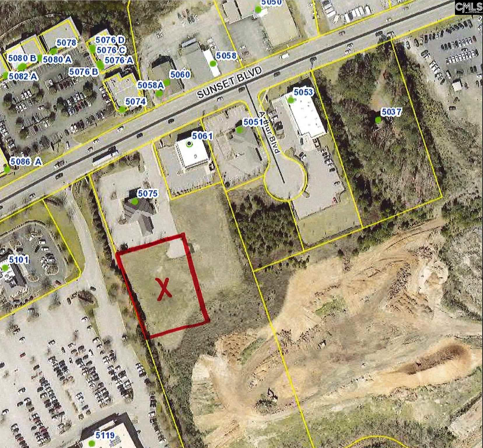 This property is a +/- 0.75 acres 'pad ready' outparcel off of Sunset Boulevard. The parcel is graded and has all utilities in place as well as an offsite detention in place.