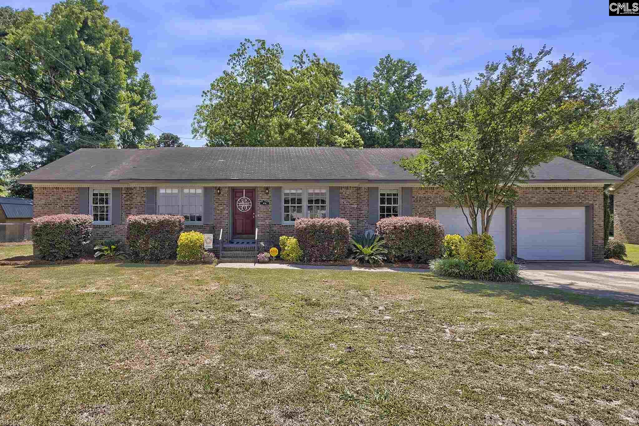 404 Shadowfield Drive West Columbia, SC 29169-2340
