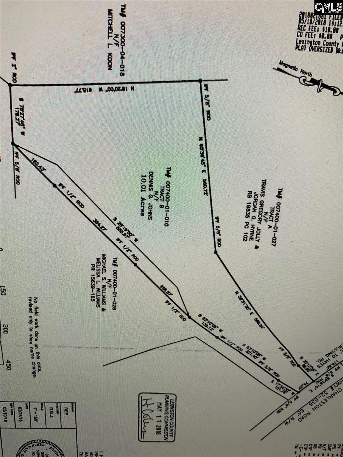 3235 Old Charleston Road Gilbert, SC 29054