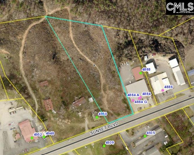 +/- 2.78 Prime commercial acres. +/- 165' Frontage Water and sewer available.