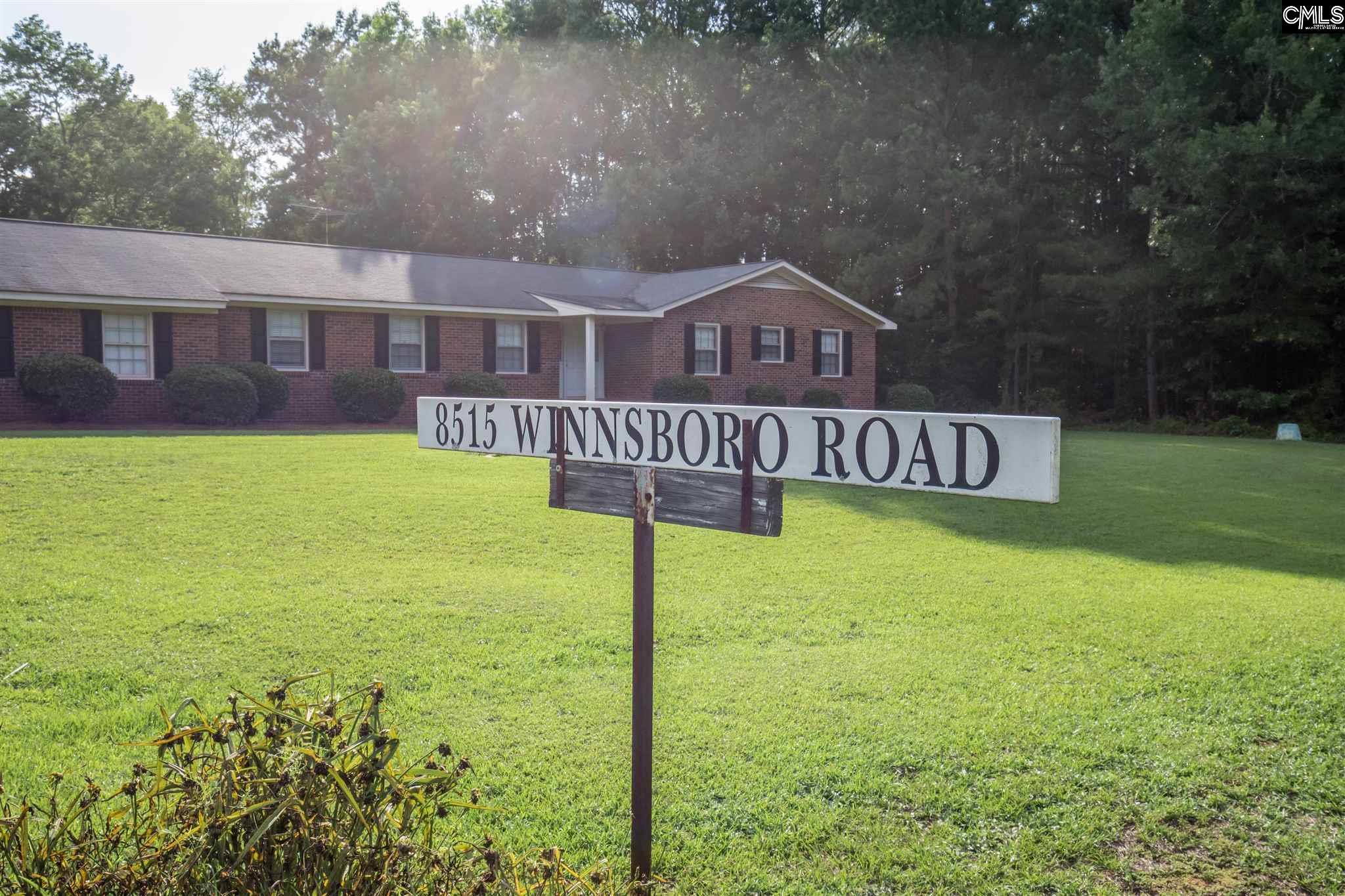 8515 Winnsboro Road Blythewood, SC 29016-9713
