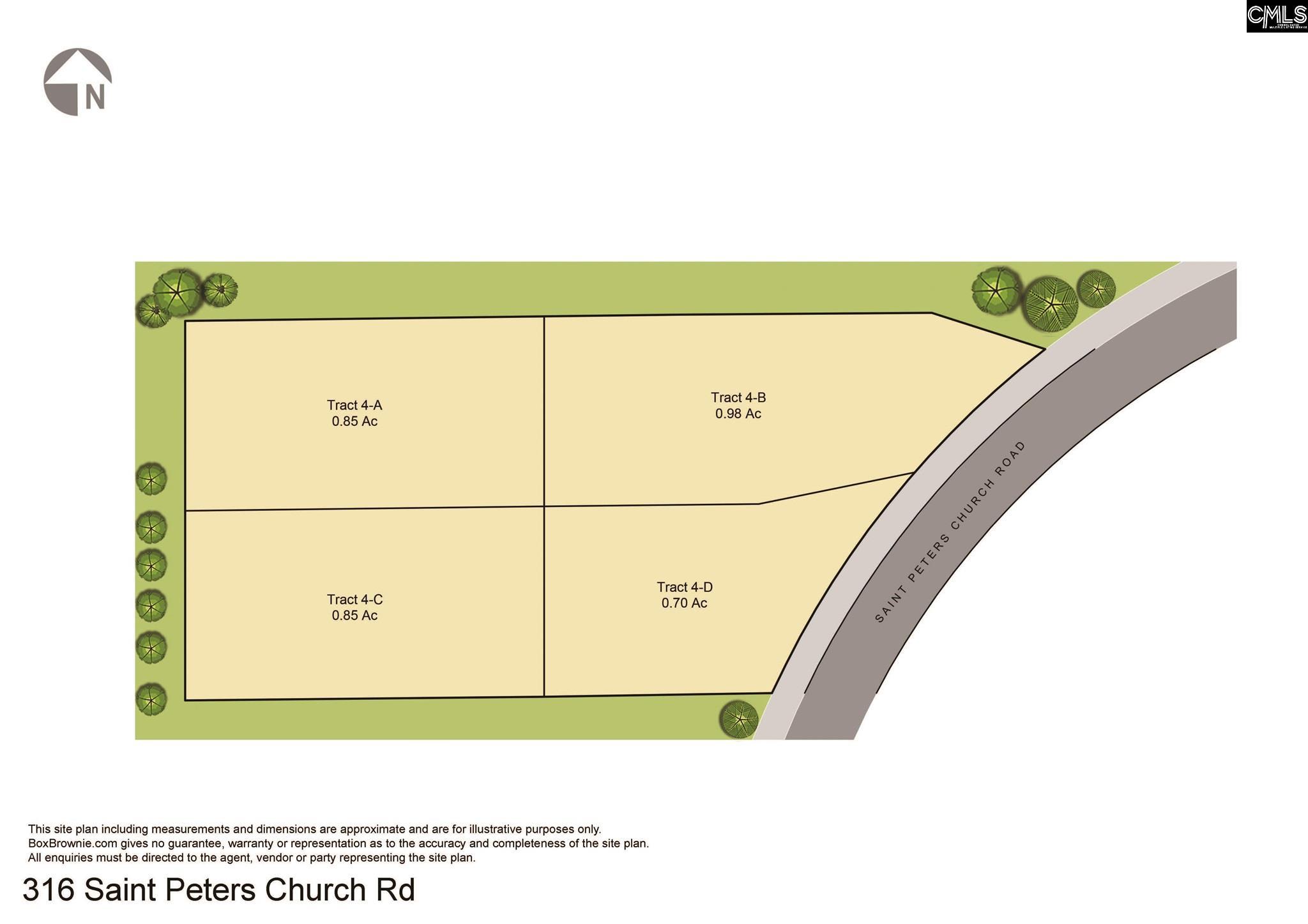 316 Saint Peters Church Road Unit 4d Chapin, SC 29036