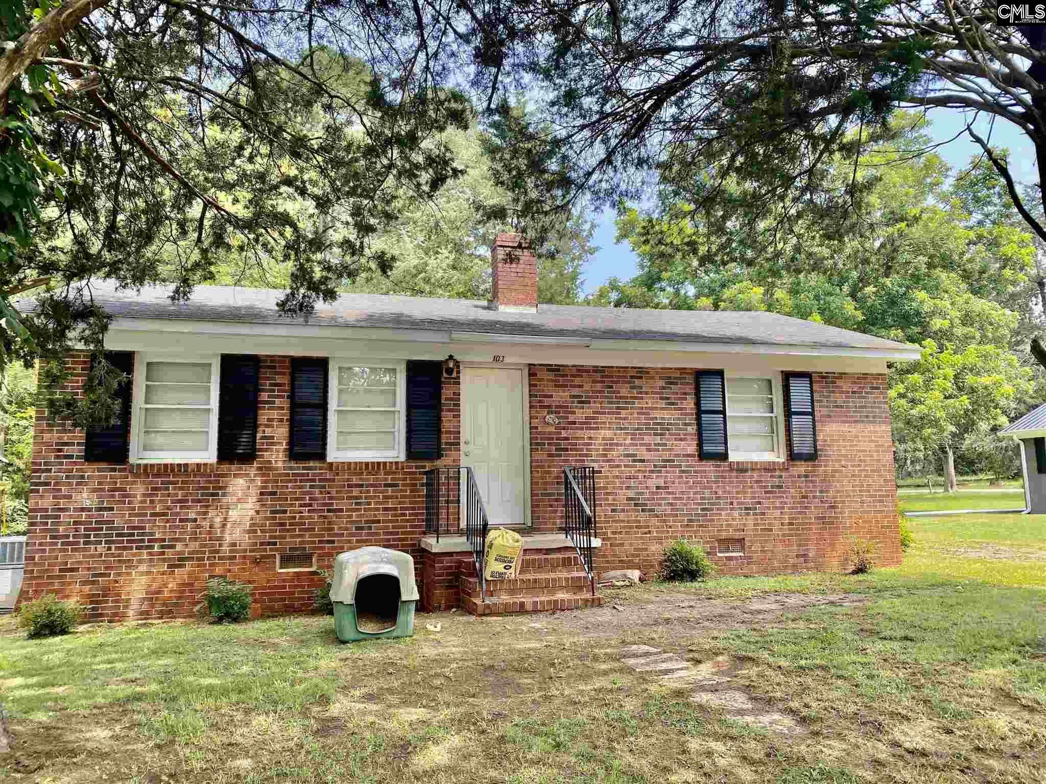 103 Chalmers Street Winnsboro, SC 29180-1215