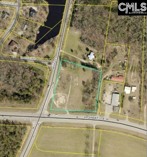 PRICE REDUCED!!!  +/- 3.38 acres on the corner of Highway 378 and Wise Ferry Road.  Excellent location on a high traffic road.    New Survey and Topo completed.  389 feet of road frontage on 378.  Deed restrictions apply.  No service station, no C-store, no fast food.