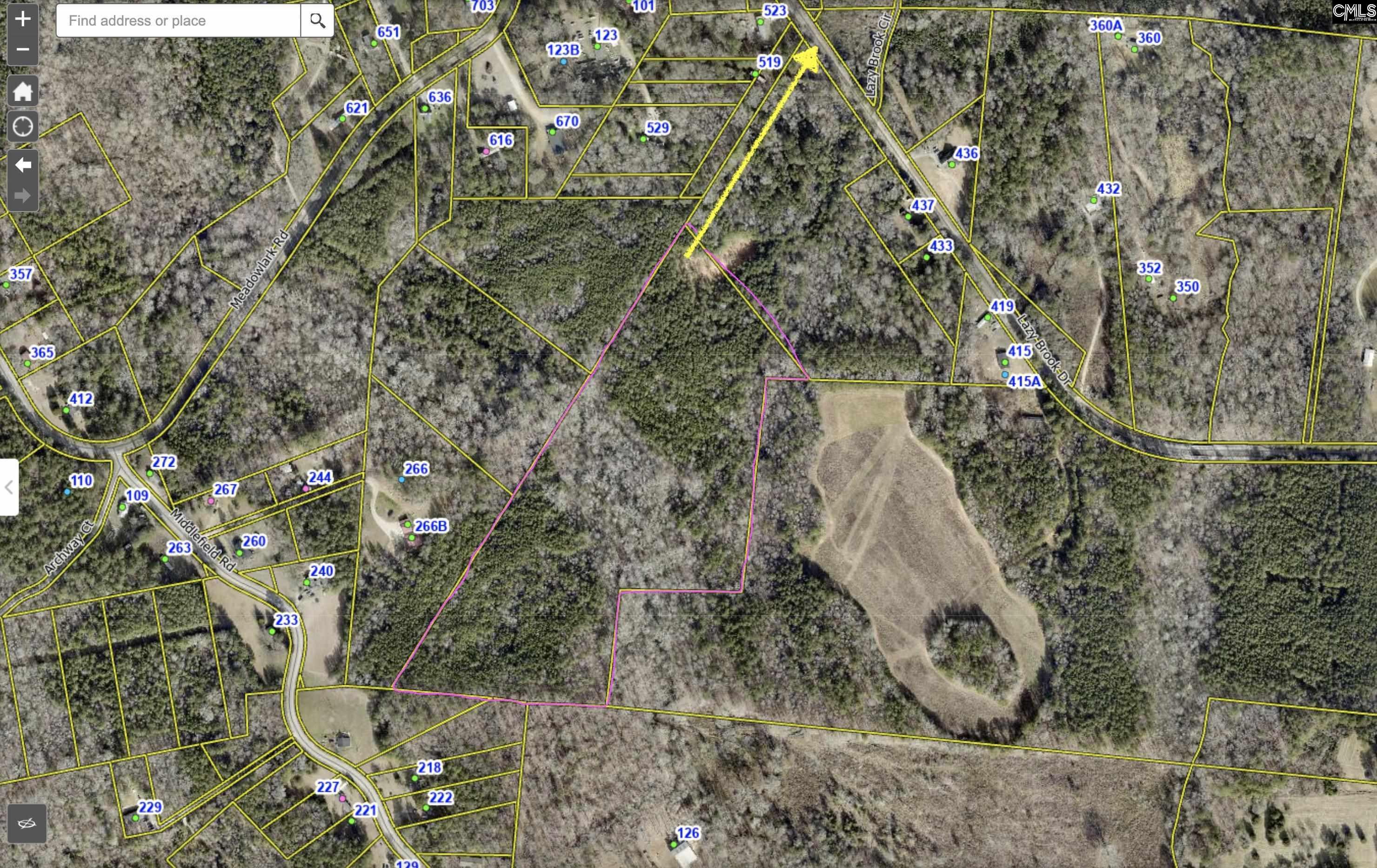 Middlefield Road Little Mountain, SC 29075