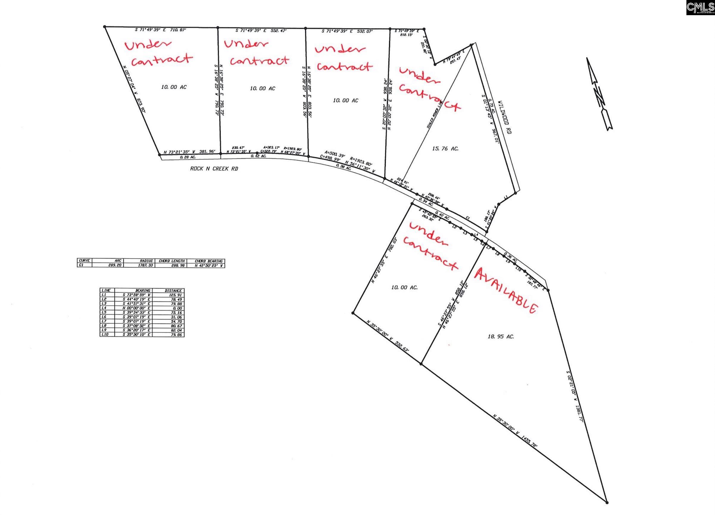 Rock N Creek Road Leesville, SC 29070