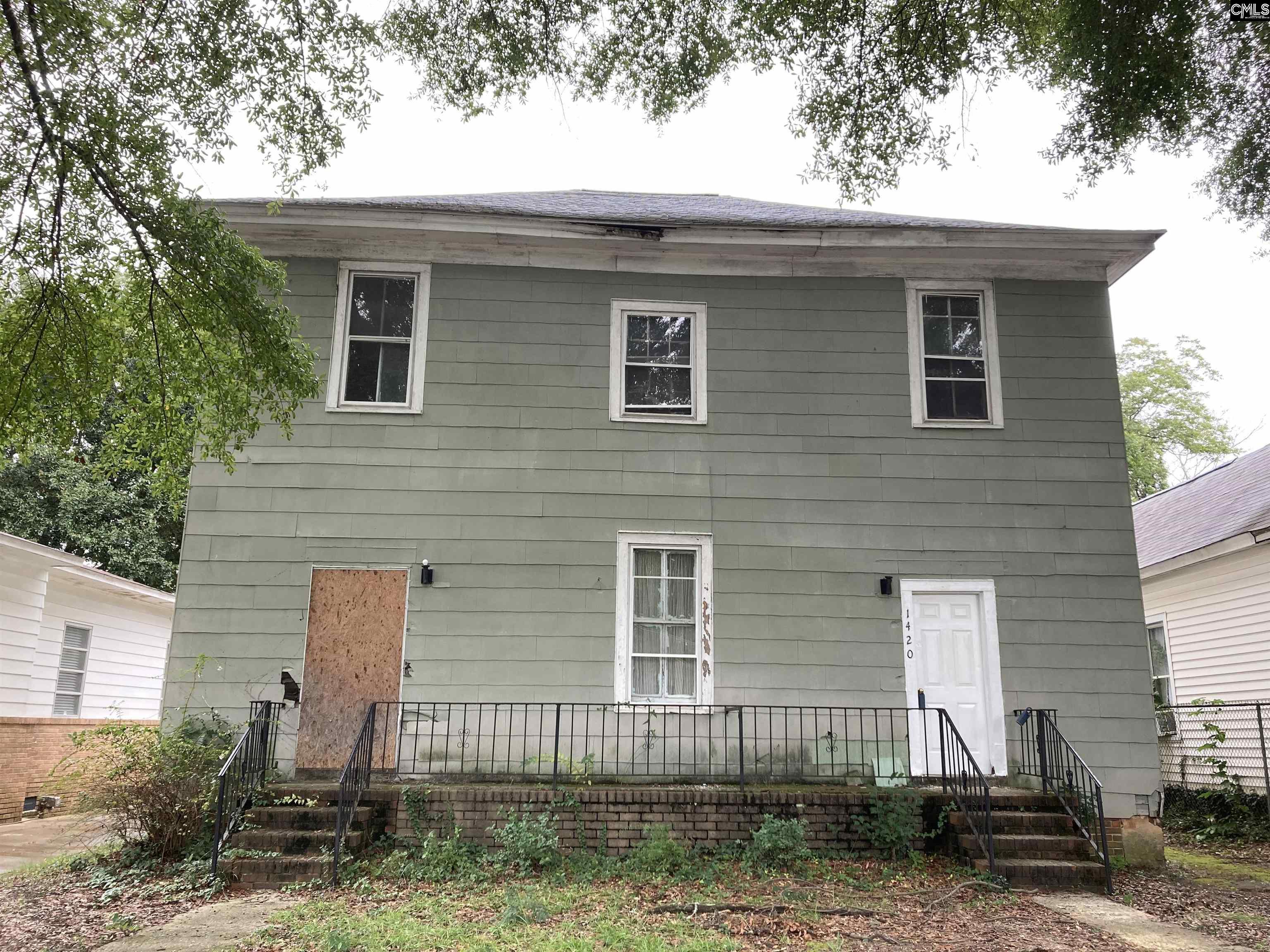 1420 Oak Street Columbia, SC 29204-0000