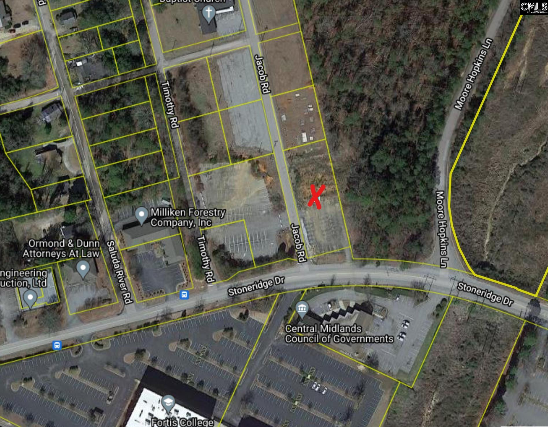 Great Commercial Site.  +/- .56 acres of prime commercial land in the heart of Columbia. +/- 100 feet of road frontage. Water and sewer available.