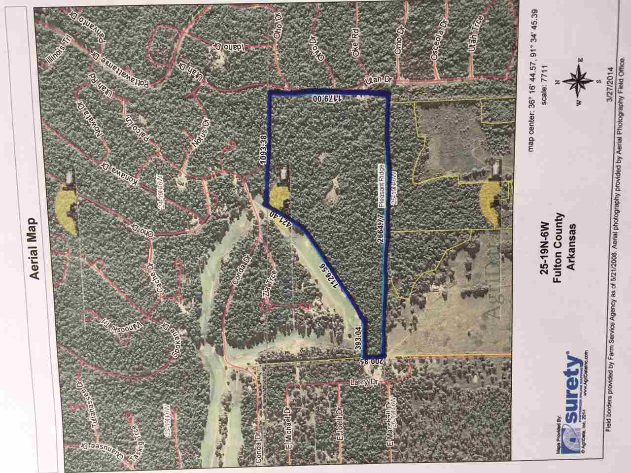 For sale is a premiere wooded track of land that runs the length of the fairway on the 5th hole at Cherokee Village South Golf Course. This property has unlimited potential! Build your dream home in the middle of the rolling forest  and enjoy an urban whitetail deer hunt on a fall morning. After bagging a mature buck with your bow, ride your golf cart to the course for an afternoon round of golf.  Not the outdoors type? This property is positioned for countless development opportunities. The pr