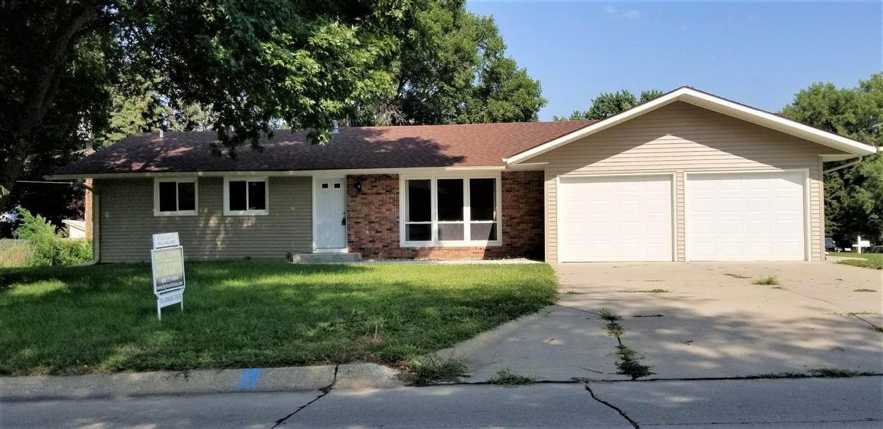 You must see this newly remodeled home today! Top to bottom, this home has been redone with a classic look. Ranch style home with 3 bedrooms on the main level. Laundry room is conveniently placed off of the kitchen on the main level as well. Full basement that has a nice family room with a ½ bath and potential for you to put your touches on the rest of the basement. The outside foundation has been tarred, sealed and the dirt recompacted. All you need to do is move in the boxes!
