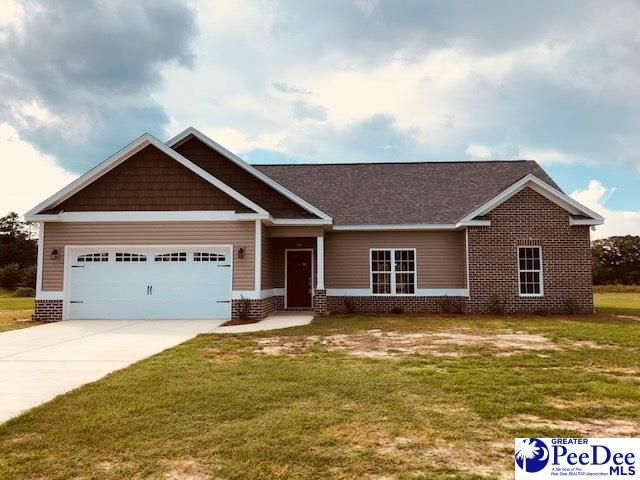 New construction home sitting on large lot. Open floor plan, granite counter tops and a Grilling porch just to mention a few features of this great home. USDA eligible. Large master suite with over sized master closet. Only 15 minutes from Florence. Call today to schedule a showing.