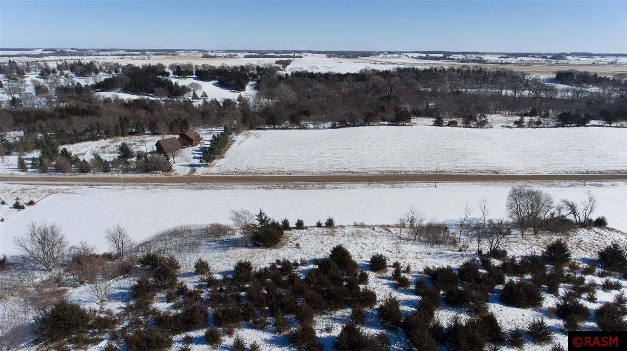 5.03 Acres premier land to build your dream home. A beautiful terrain. Across from Le Sueur Country Club. Just minutes from town.