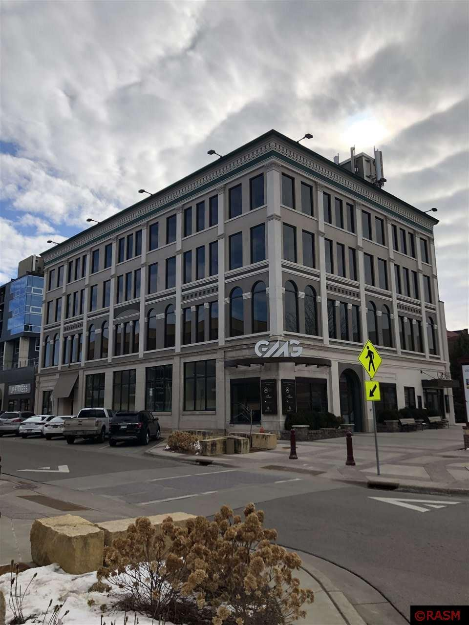 2800 Sq. Ft. of Class A - Office Space Gross rent 3950 - $20.61 Sq. Ft. partially Furnished - 2 stalls designated parking Plus 30 non designated parking stalls Convenient downtown location