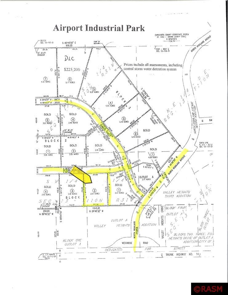Property for sale at TBD Berens, New Ulm,  Minnesota 56073