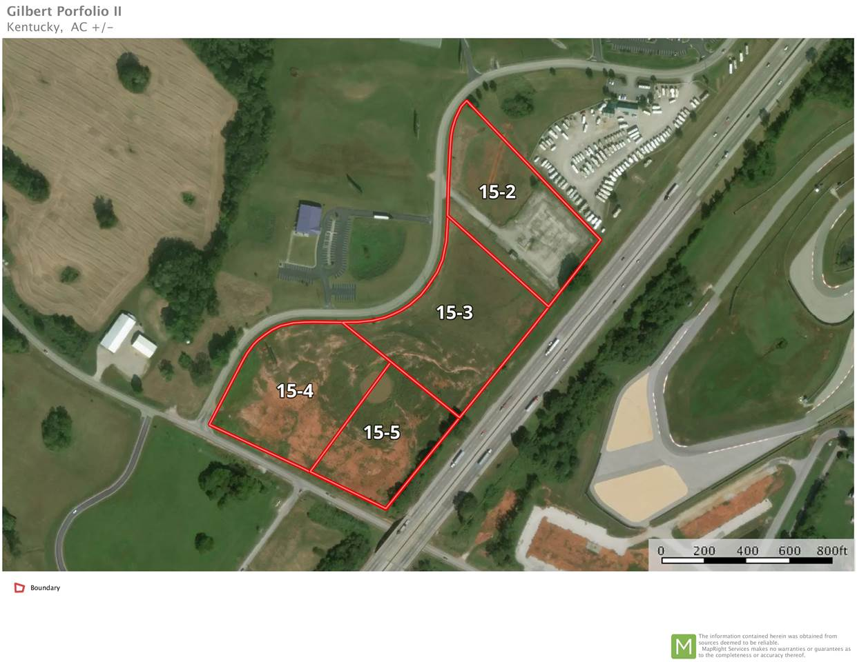 Lot 15-3 Corvette Drive & Porter Pike