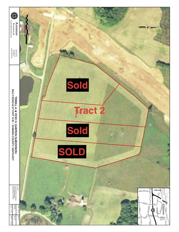 Beautiful 6.50 acre tract very close to the Bowling Green Transpark. Great building sites and views of surrounding farm land. Easy access to HWY 31W, HWY 68/80 and I-65. Owner/ Agent.