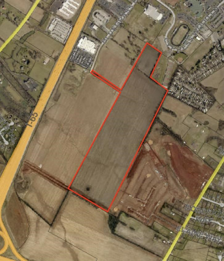 Excellent building lot for  your own business or investment opportunity right off I-65.